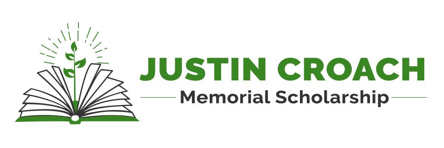 Justin Croach Memorial Scholarship Logo Slidr